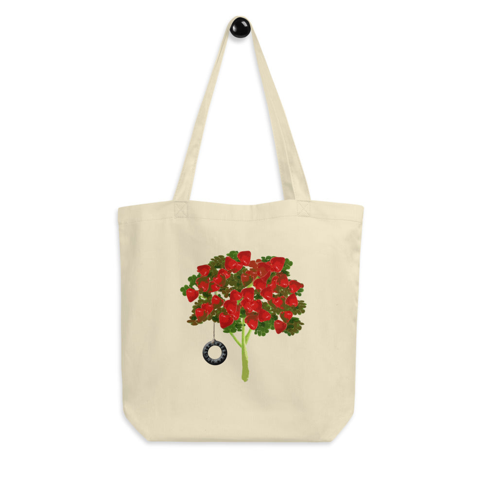 Strawberry Swing Tote Bag