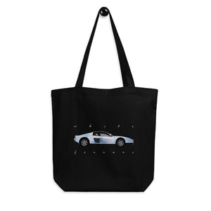 White Ferrari Tote Bag
