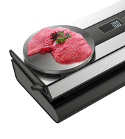 Stainless Vacuum Sealer With Integrated Scale