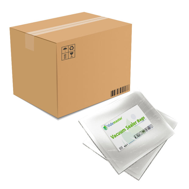 Box Purchase - 10 pack - 25 x 35cm Vacuum Food Sealer Bags (100s)