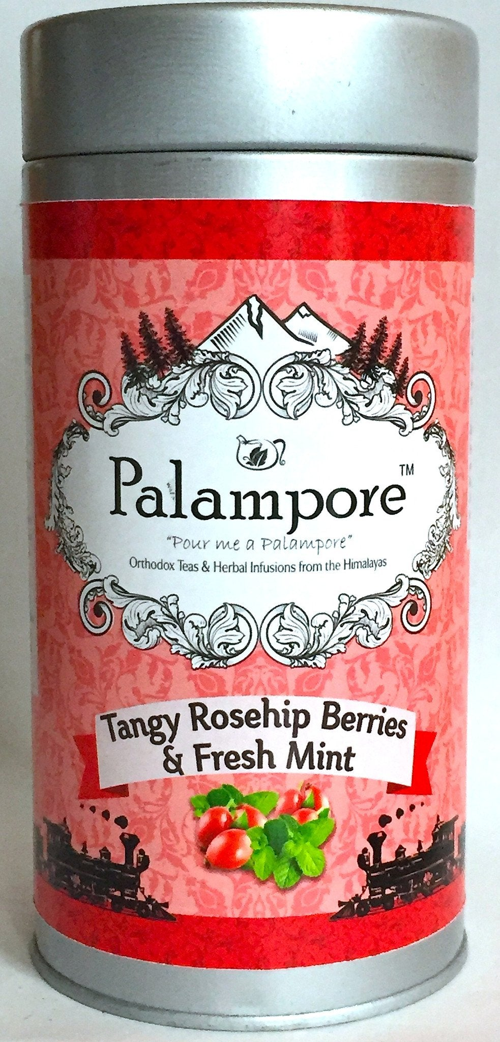 PALAMPORE- TANGY ROSEHIP BERRIES & FRESH MINT
