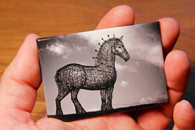 Andy Scott's Heavy Horse Magnet