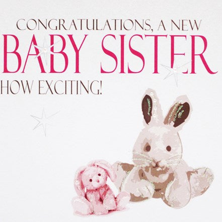 Congratulations, a New Baby Sister