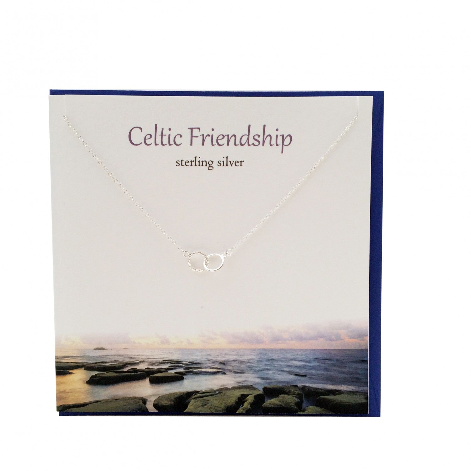 Celtic Friendship Sterling Silver Pendant