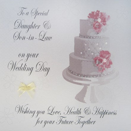 Daughter and Son in Law Wedding Card