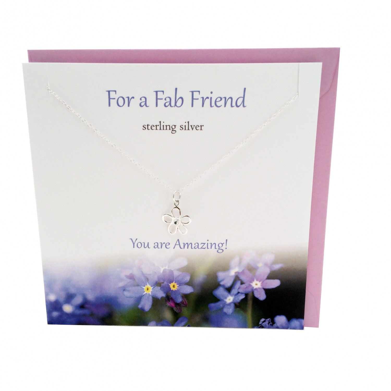 Fab Friend Sterling Silver Pendant