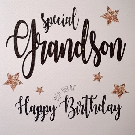 Special Grandson Birthday Card
