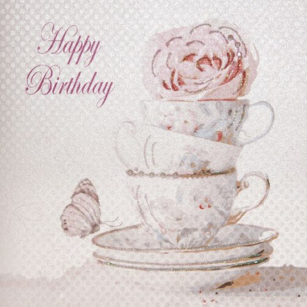 Happy Birthday Tea Set
