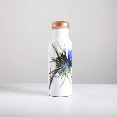Thistle Copper Water Bottle 750ml