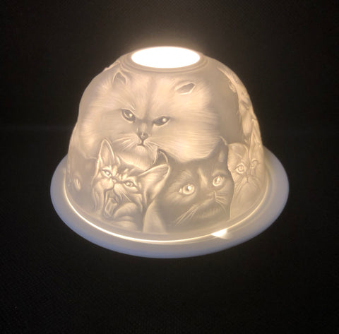 Cat Tea Light Holder