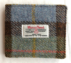 Harris Tweed Wallet with Coin Section