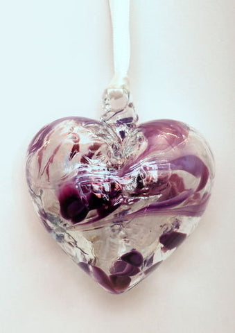 Birthstone Heart- February