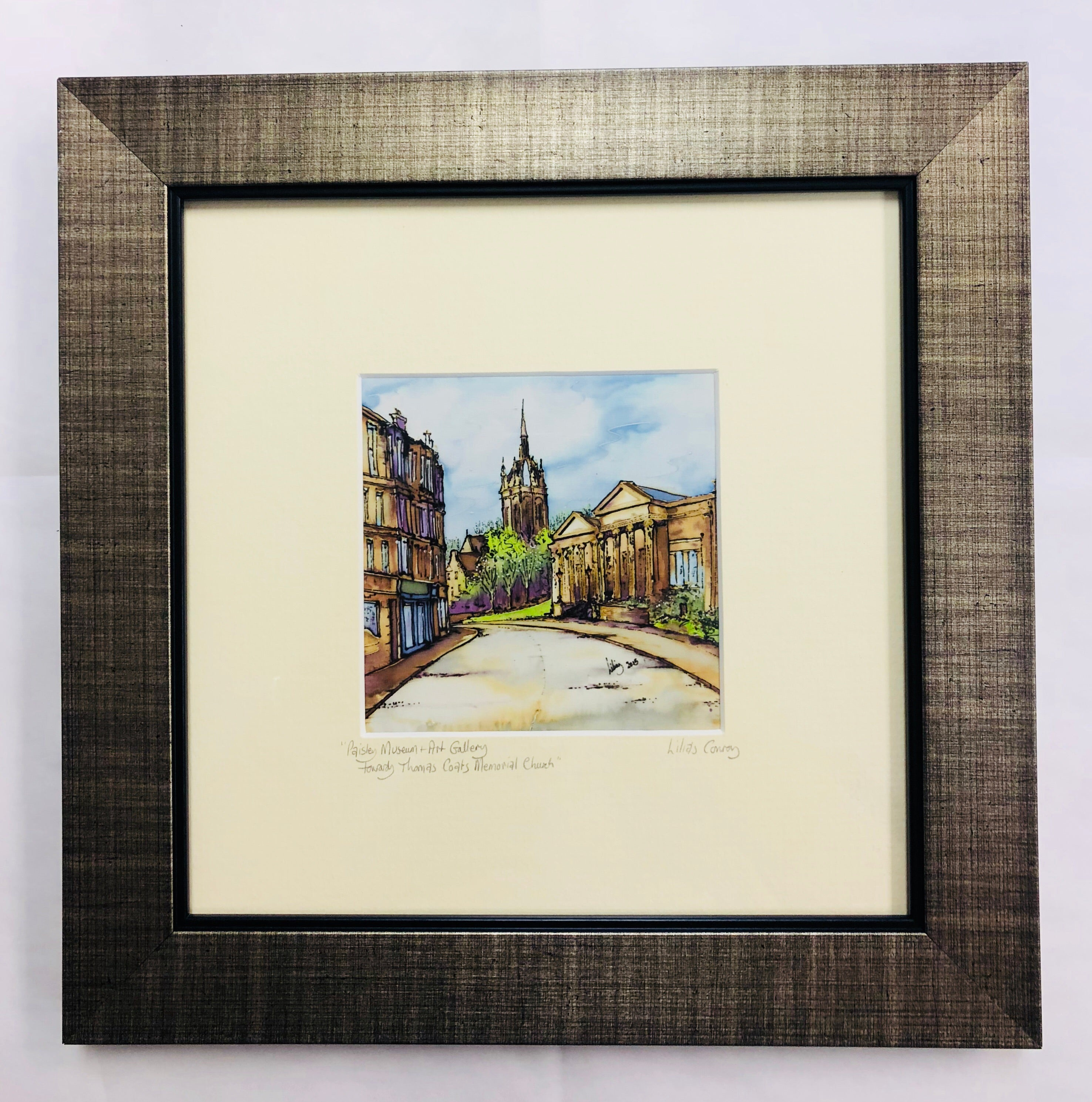 """Paisley Museum & Art Gallery"" Print Small"