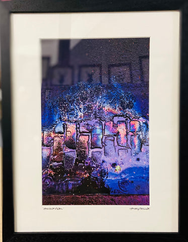 """Ancient Path"" Framed and Mounted Print"