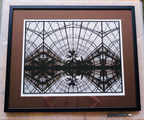 """Afterhours/ Winter Garden/ People's Palace"" Framed and Mounted Print"