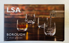 LSA Borough Shot Glass  x4