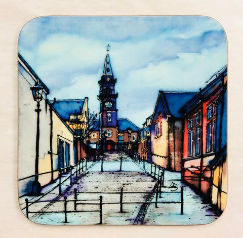 """Church Hill, Paisley"" Coaster"