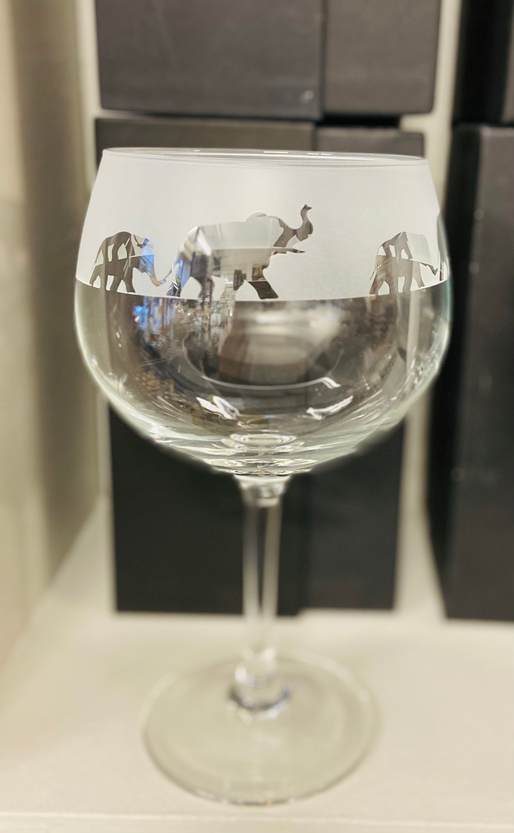 Elephant Gin Balloon Glass