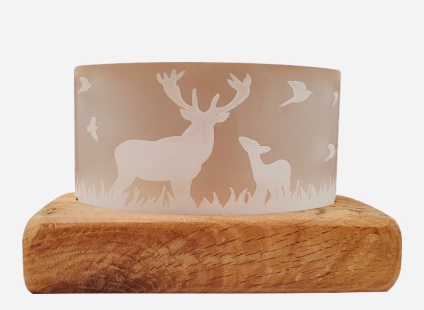 Stag Whisky Tealight Holder