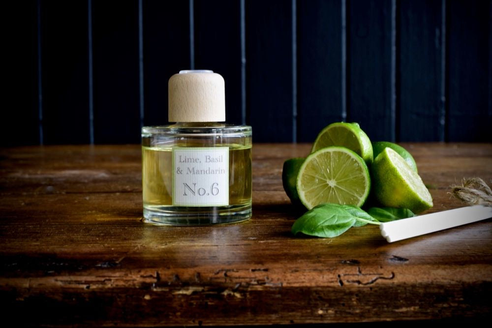 Lime Basil and Mandarin Reed Diffuser (100ml)