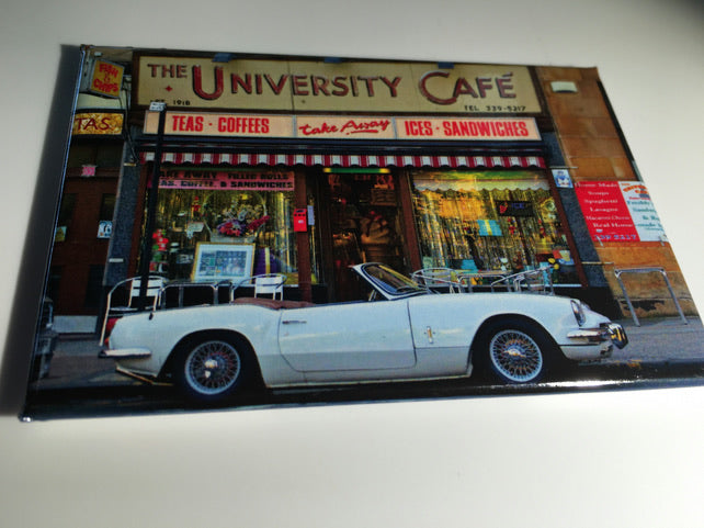 Glasgow University Cafe Magnet