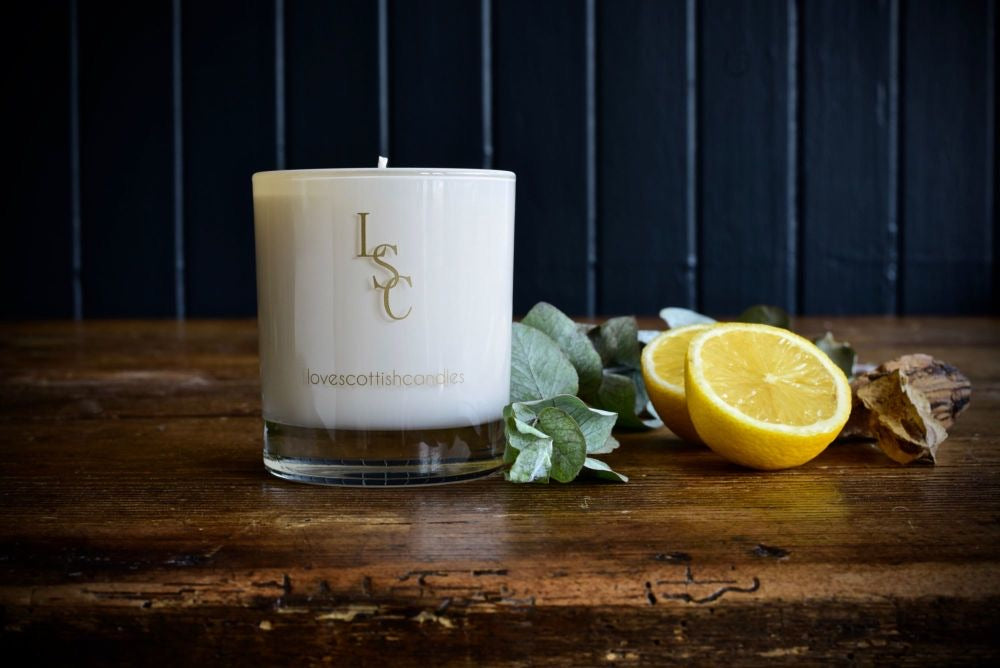 Gift Boxed Candle Lemongrass (150g)
