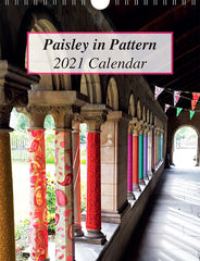 Paisley in Pattern Calendar 2021