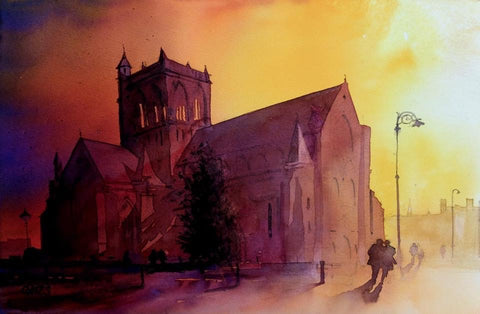 Paisley Abbey Watercolour