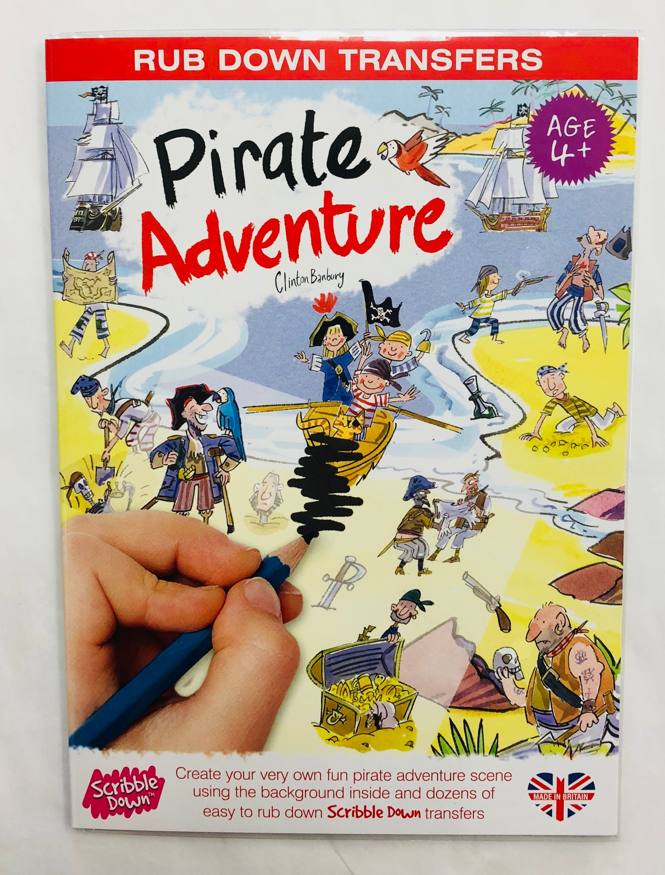 Pirate Adventure Kids Transfers