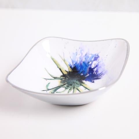 Thistle Square Bowl