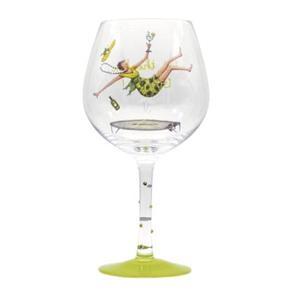 Let the fun be Gin- Gin Glass