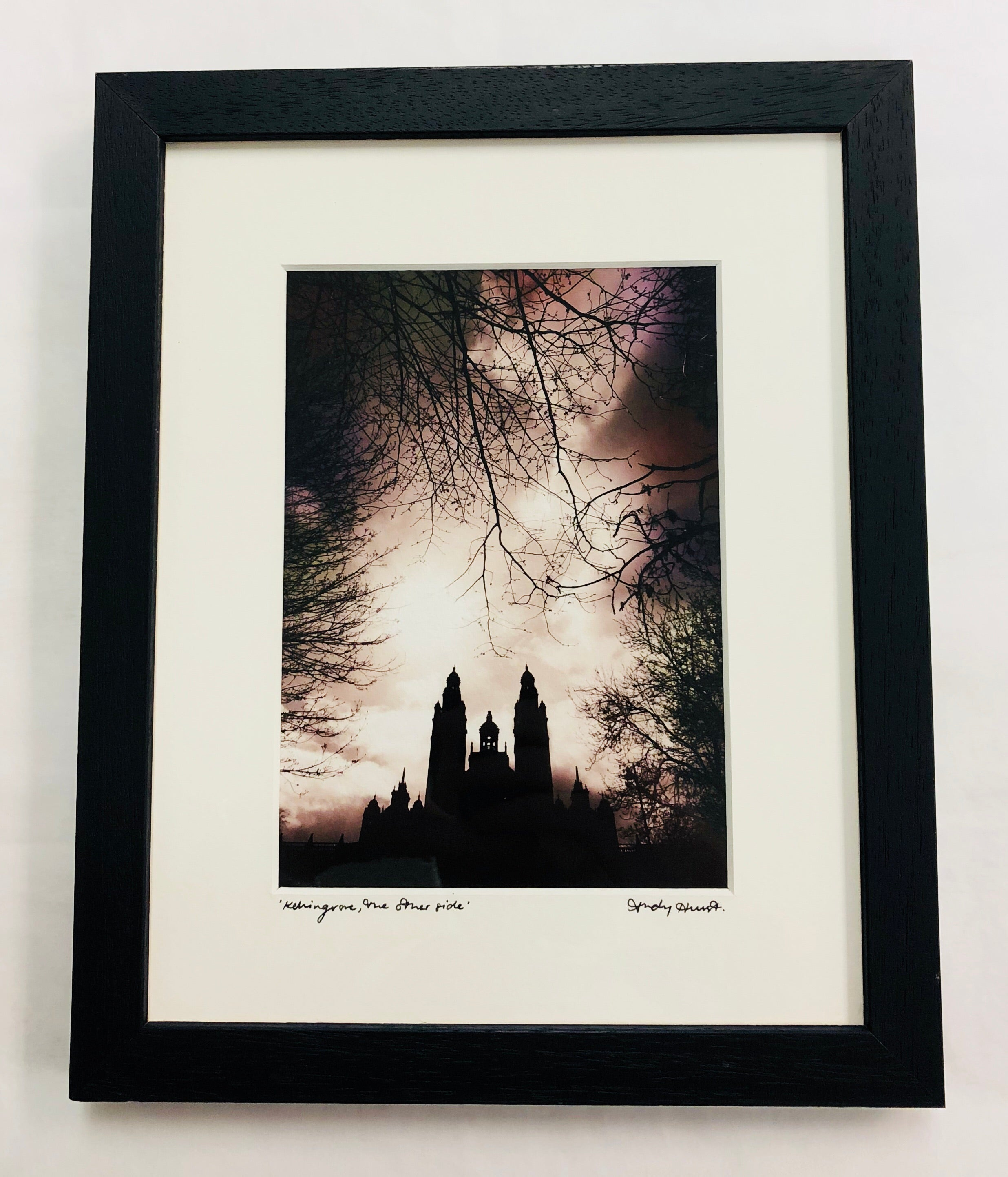 """Kelvingrove, the other side"" Print"