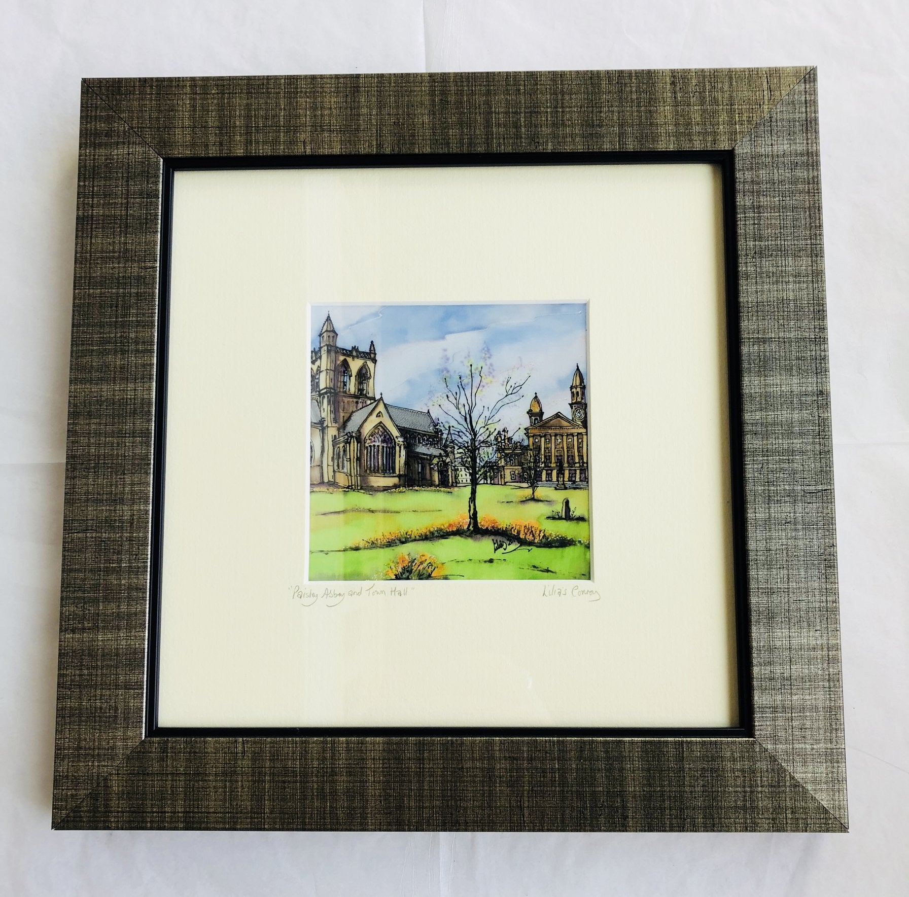 """Abbey Reflections"" Print Small"