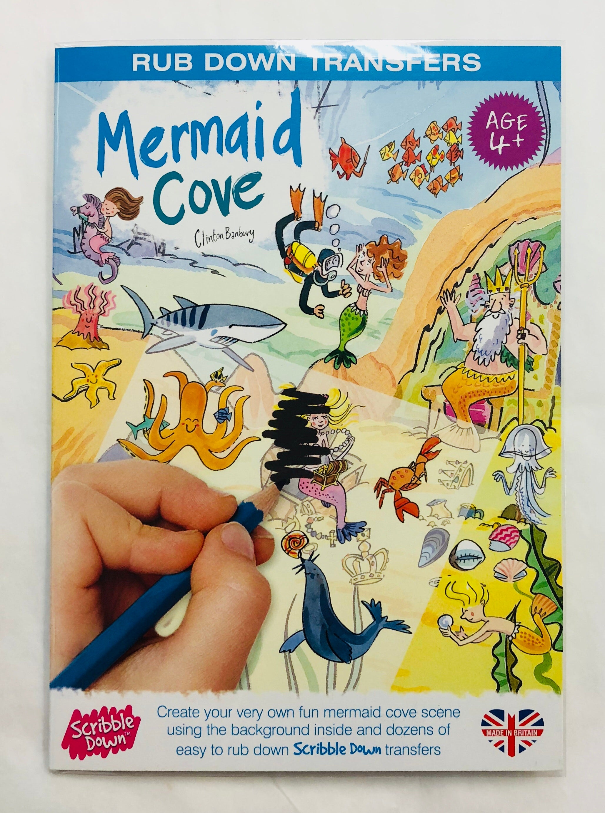 Mermaid Cove Kids Transfers