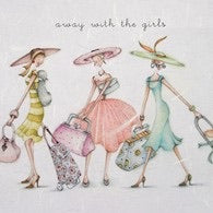 Away with the Girls Card