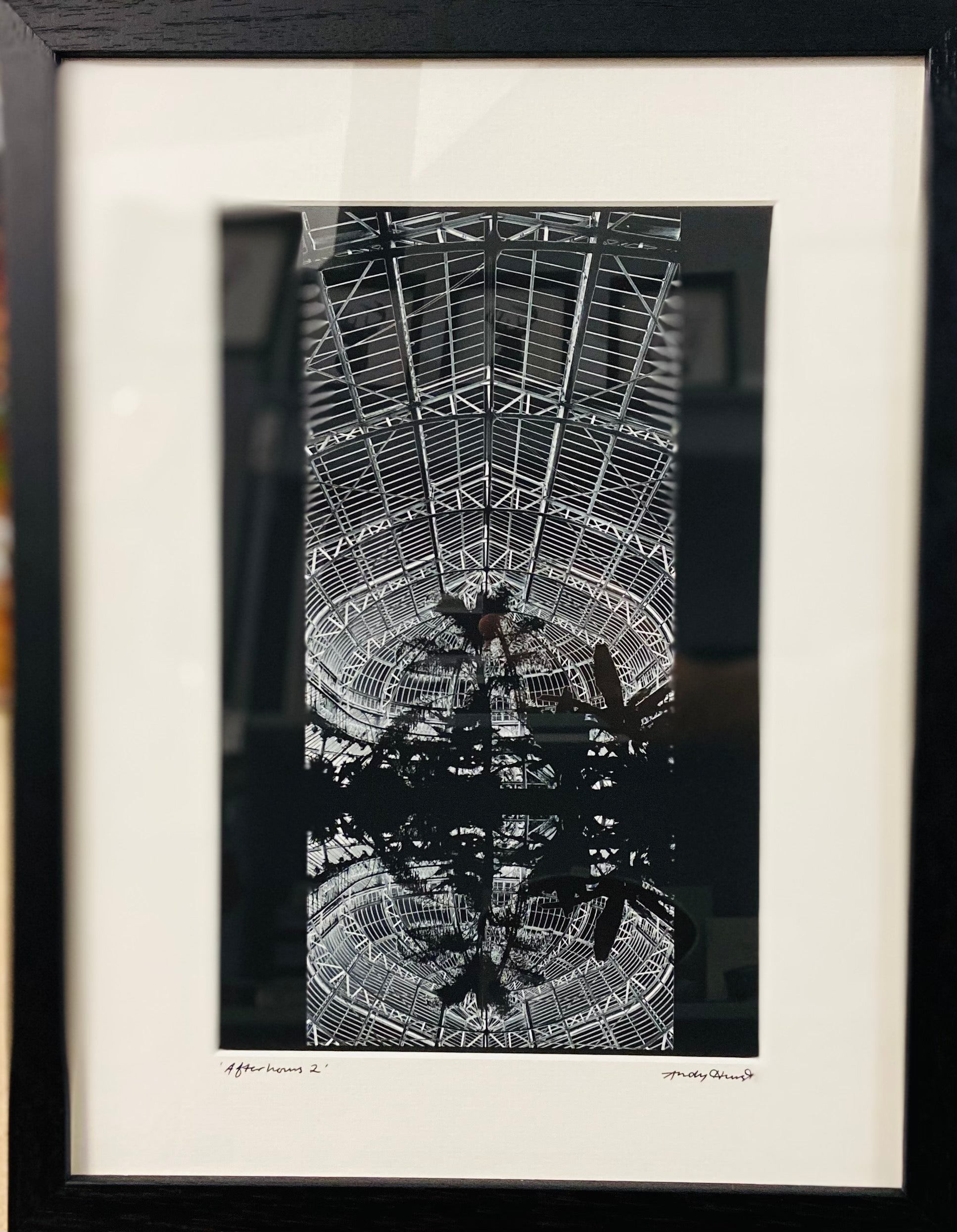 """Afterhours 2"" Framed and Mounted Print"