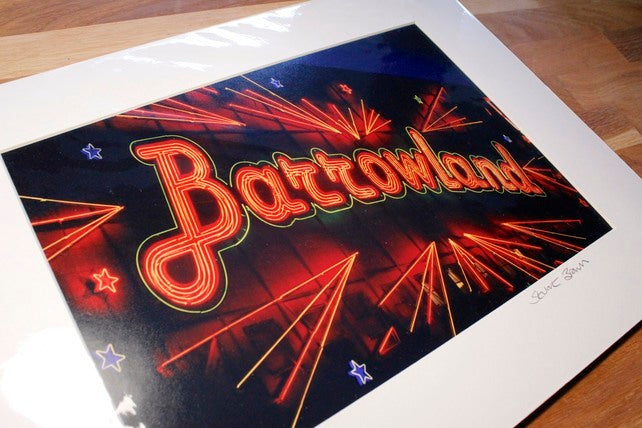 The Barrowlands Mounted Wall Print