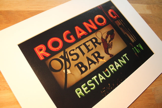 Rogano Mounted Wall Print