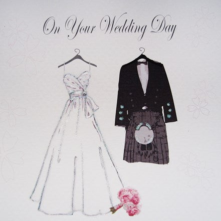 Wedding Day Dress and Kilt