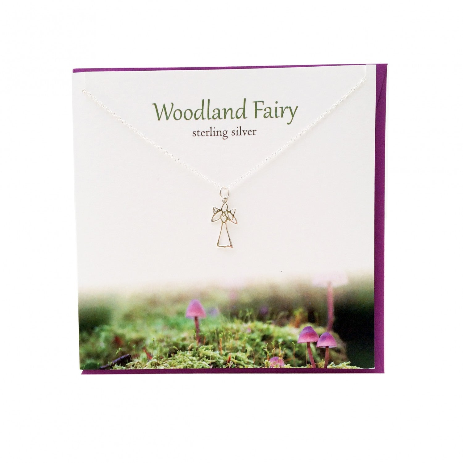 Woodland Fairy Sterling Silver Pendant