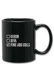 Fine Ass Girls Checkbox Mug