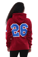 Team Collection Hoodie - New York (Antique Cherry Red)