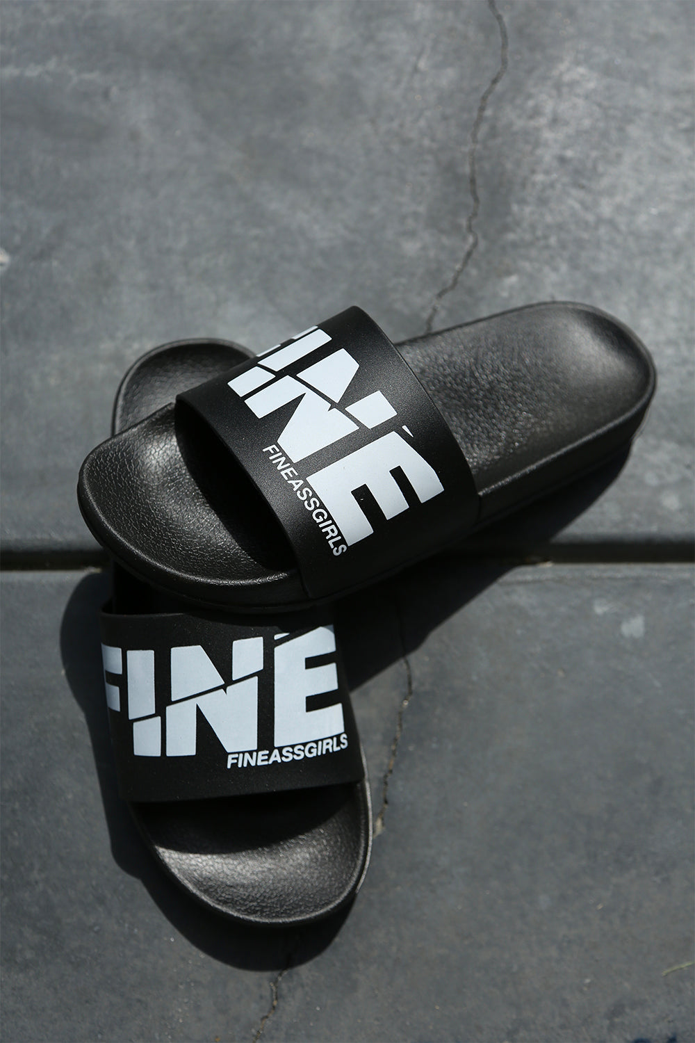 Spliced Logo Pool Slides