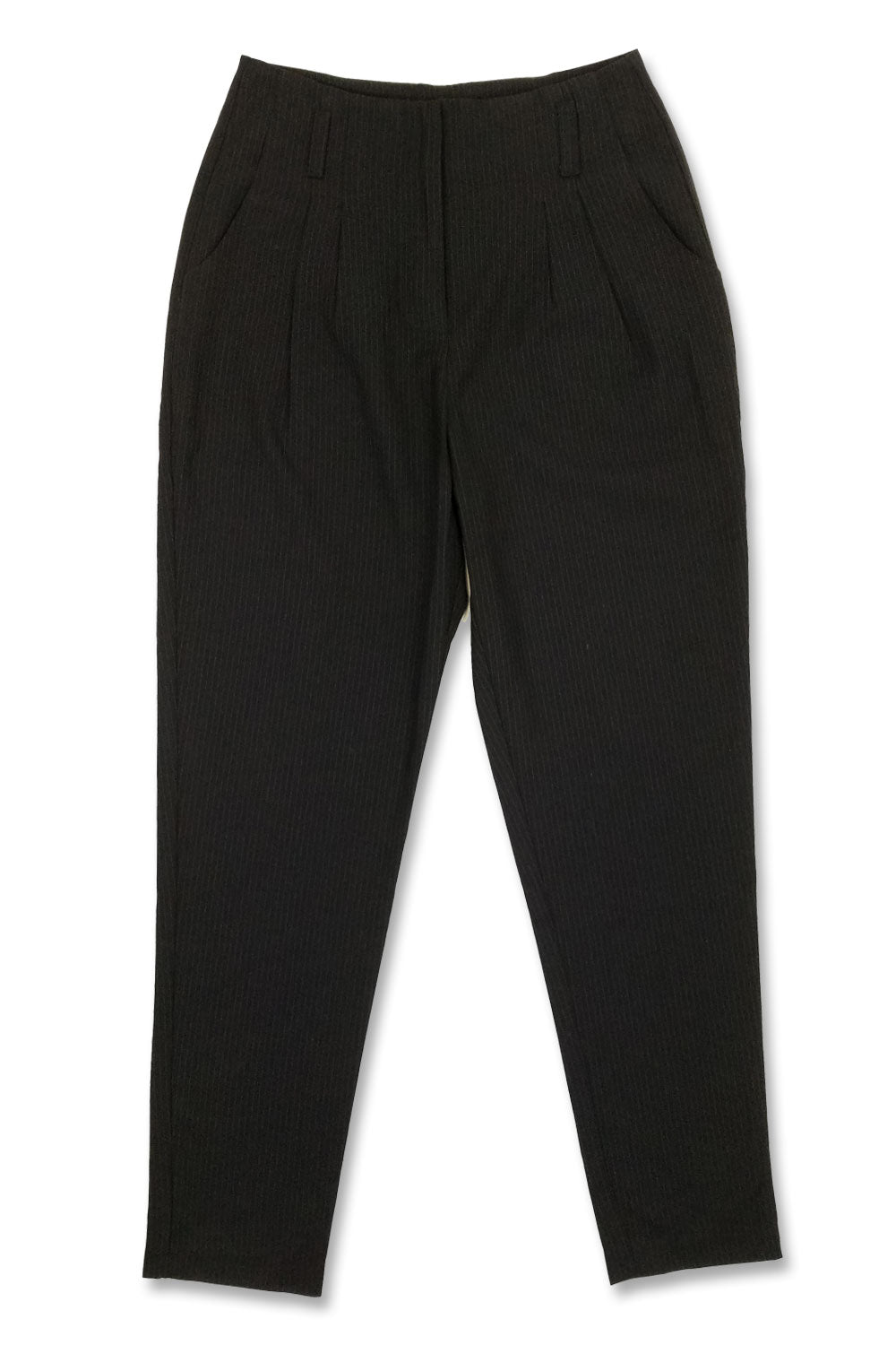 FGS Jr's Black Pinstripe High Wasted Pants