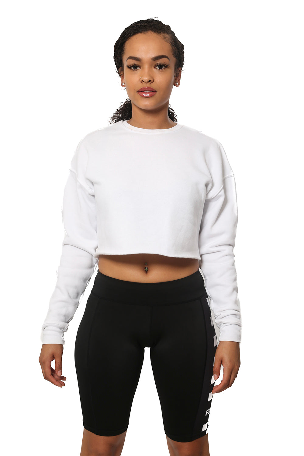 Bringing Fine Back Cropped Fleece