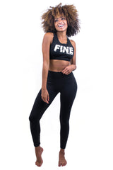 Spliced Logo Active Legging