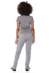 Fitted Sweatpants - Grey