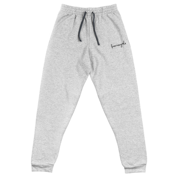 Fine Ass Girls Cursive Joggers