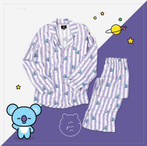 BT21 Pajamas Bangtan Boys