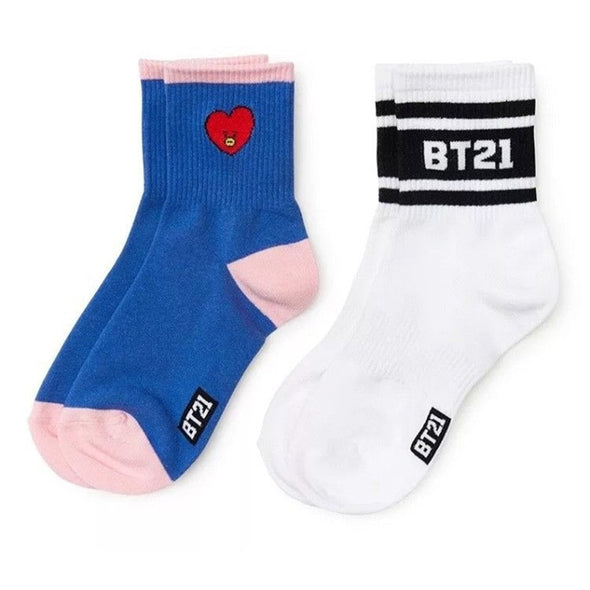 BT21 Comfortable Cotton Socks